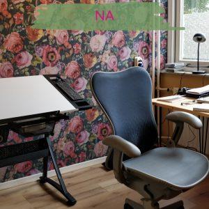 uitgevoerd kleuradvies werkkamer thuiswerkplek
